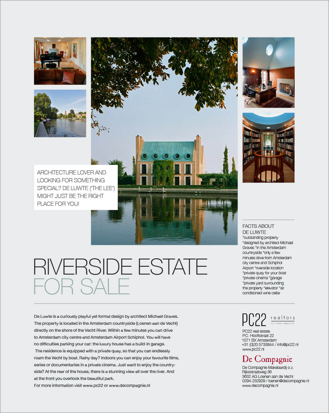 Riverside Estate For Sale,